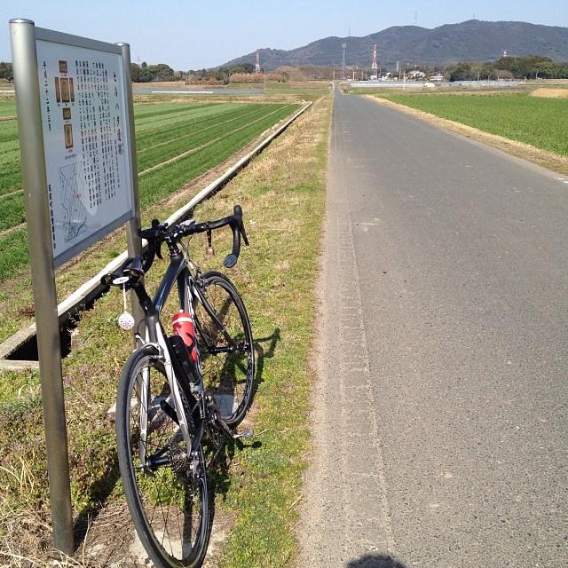 ちょい乗り #イマソラ #空 #雲 #like #ロードバイク