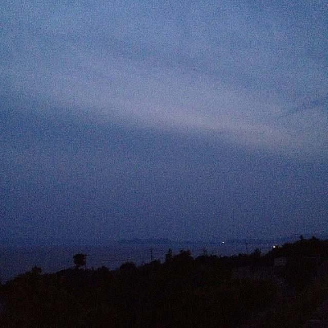 大村湾 #イマソラ #空 #雲 #like #sea
