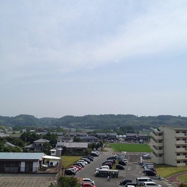 高鍋のホテルからの眺め。#キョウソラ #like