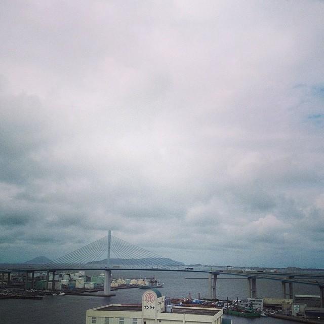 博多港の眺め #like #イマソラ #空 #雲