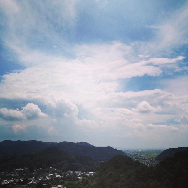 天気よし 八丁峠行くか #イマソラ #空 #雲 #sky #like