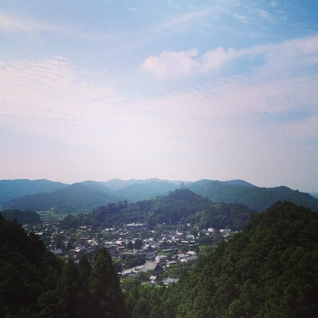 秋月の町が見える #イマソラ #空 #雲 #like