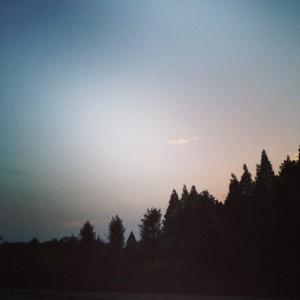 ヒグラシが鳴いていた夜須高原