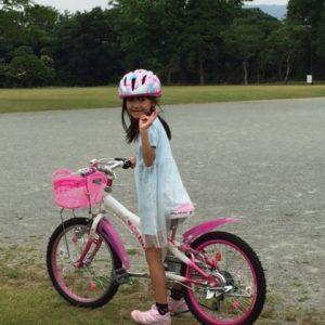 父娘サイクリング