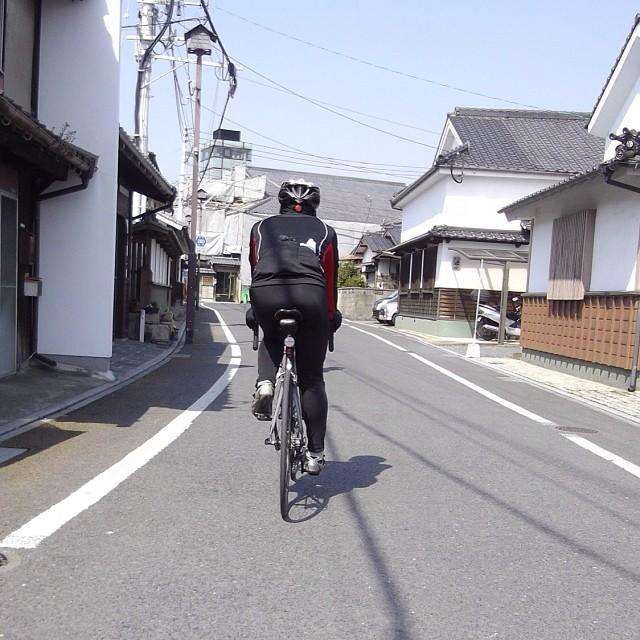 木屋瀬宿場 #like #ロードバイク