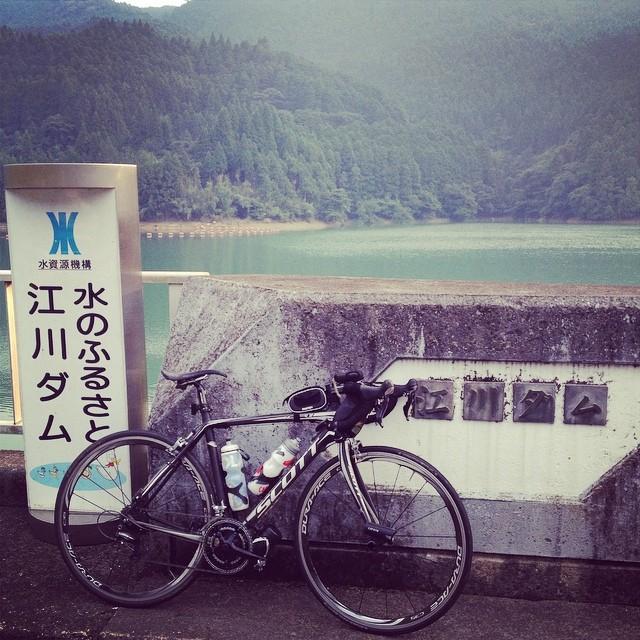 あと、40kmは走りたい #イマソラ #空 #雲 #like #ロードバイク #ダム