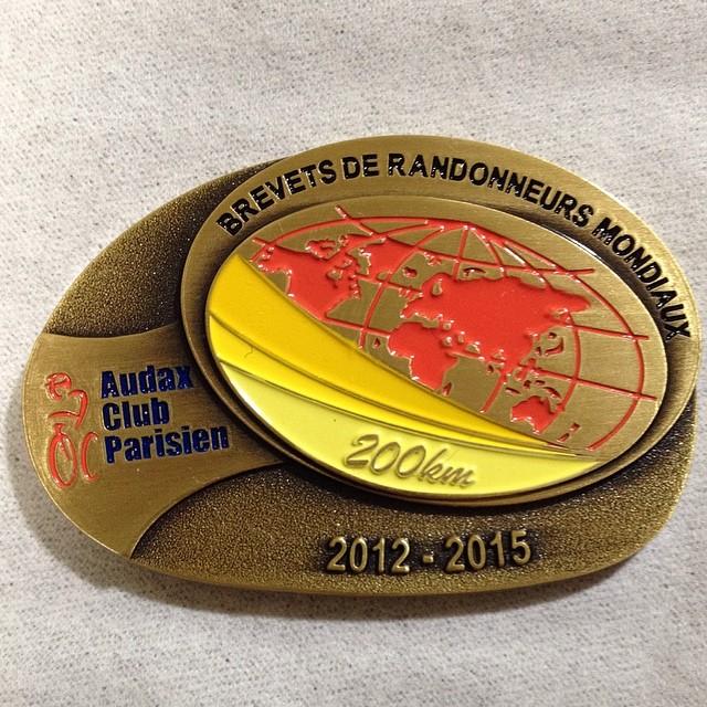 ブロンズメダル獲得。 #brm405シマバラ200k #like #ロードバイク
