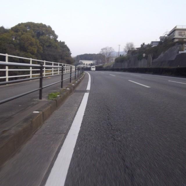 国道3号太宰府方面 #like
